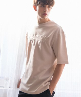 크리스브라운(chrisbrown) 3/4 SLEEVE TEE (IVORY)