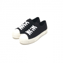 Delharmonie Andante Low Canvas Black