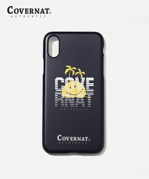 커버낫(COVERNAT) SMILE I-PHONE X CASE BLACK