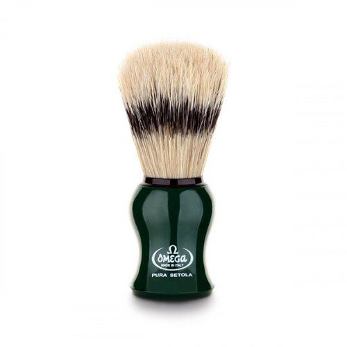 오메가브러쉬(OMEGABRUSH) shaving brush 80265 GREEN