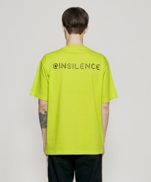 ARCADE LOGO TEE yellow green