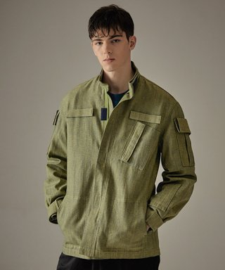 킬리자로(kilijaro) MILITARY MARCH JACKET - OLIVE