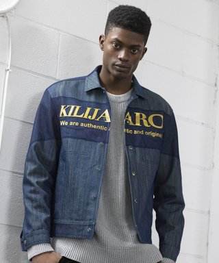 킬리자로(kilijaro) MESH LAYER DENIM JACKET