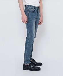 DEN medium blue slim jeans.