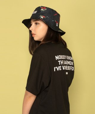 레이든(layden) NOBODY KNOWS S/S TEE-BLACK