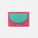 살랑() half circle card two-tone Strawberry pink