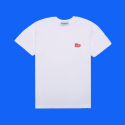 덕다이브(DUCKDIVE) WW. T-SHIRTS_WHITE