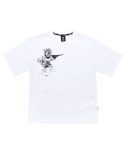 필드매뉴얼(FIELDMANUAL) FLOWARMAN TEE white