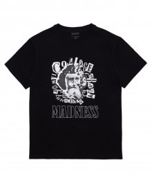 [18SS] MADNESS COLLAGE T-SHIRT - BLACK