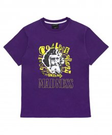 [18SS] MADNESS COLLAGE T-SHIRT - PURPLE