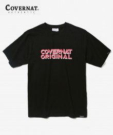 S/S DISCO LOGO TEE BLACK