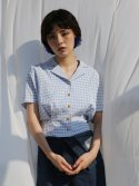 일일오구스튜디오(1159STUDIO) MH6 HALF CROP SHIRT_BL