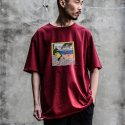 디콤파스(D.COMPAS) D.CPS CARTOON T-SHIRT(WINE)