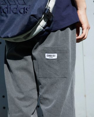 쵸이지(choisi) Droop Pocket Detail Pants (Charcoal)
