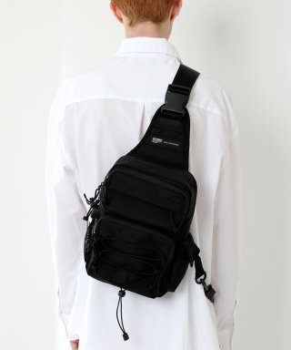 피스메이커(piecemaker) CORDURA TECH SLING BAG (ALL BLACK)