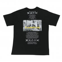 A.C.L London Crew T-shirts - BLACK