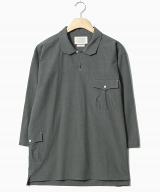 헨더(hander) Cotton Tunic Shirts Grey