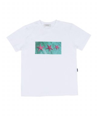 크리스브라운(chrisbrown) STARFISH SHORT SLEEVE TEE (WHITE)