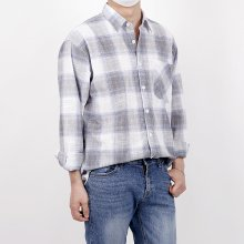 (린넨) Daliy Linen Check Shirts