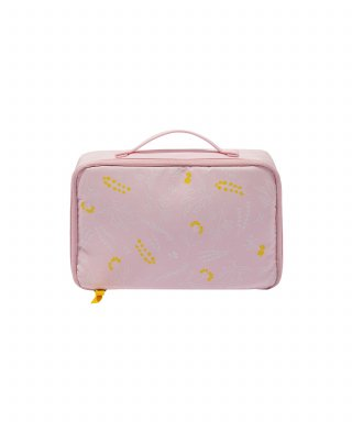 위크에이드(weekade) BOTANICAL BEAUTY POUCH TRAVEL_Pink garden