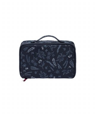 위크에이드(weekade) BOTANICAL BEAUTY POUCH TRAVEL_Navy garden