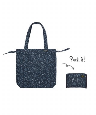 위크에이드(weekade) BOTANICAL ISLAND BAG_Navy garden