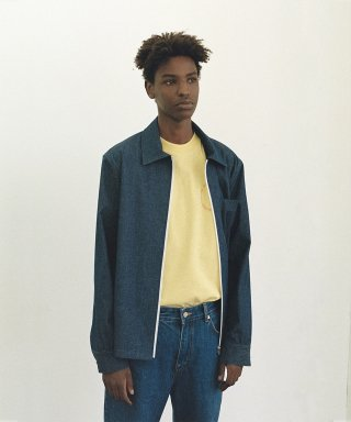 리트(lit) ZIP UP SHIRTS [DENIM]