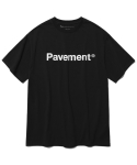 페이브먼트(PAVEMENT) BASIC LOGO SHORT SLEEVE HS [BLACK]
