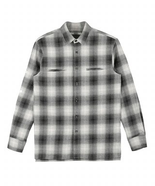 벨리에(belier) Hidden Pocket Shirt - Black Check