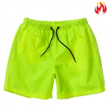 Nylon Hellvn Man Swim Pants - Neon