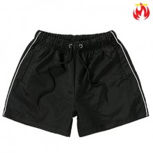 Nylon Hellvn Woman Swim Pants - Black