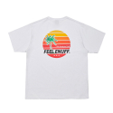 필이너프() SUNSET T-SHIRTS WHITE