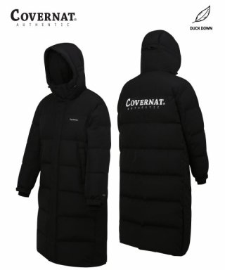 커버낫(covernat) 19-20 DUCK DOWN WARM UP LONG PUFFER(BIG LOGO)