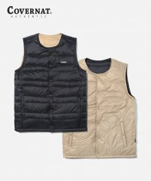 18AW REVERSIBLE GOOSE DOWN VEST