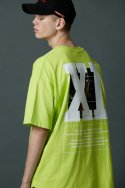 나인일레븐(nineeleven) NINE -11 T-SHIRT-lime