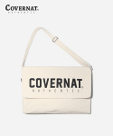커버낫(COVERNAT) JERSEY LOGO MAIL BAG IVORY