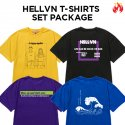 헬븐(HELLVN) [세트상품] Set Package Hellvn Graphic T-shirts - Special Price