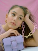 하이칙스(HIGH CHEEKS) Color Pop Chain Strap_Pink