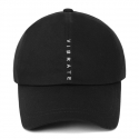 바이브레이트(vibrate) VERTICAL LOGO BALL CAP (BLACK)