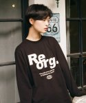 리올그(REORG) RR LONG SLEEVE BLACK