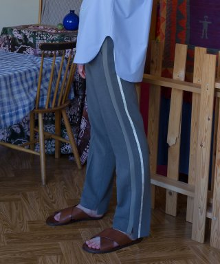 벨리에(belier) Side Double Stripe Trousers / Grey