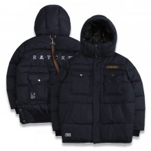 ALL SET Goose Down Parka_Navy