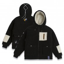 Heavy Fleece Jumper_Black