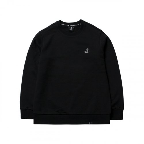 캉골(KANGOL) Club Sweatshirt 1600 Black