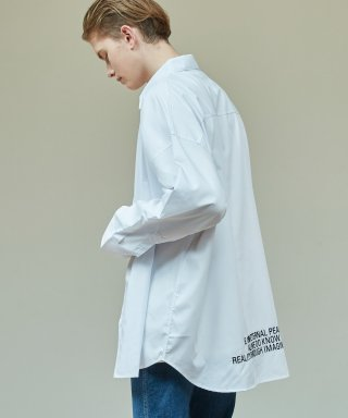 어반스터프(urbanstoff) USF Embroidered Oversized Shirts White