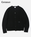 커버낫(covernat) HEAVY GAUGE CARDIGAN BLACK