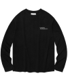 비바스튜디오(vivastudio) LOCATION LOGO LONG SLEEVE [BLACK]