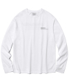 비바스튜디오(vivastudio) LOCATION LOGO LONG SLEEVE [WHITE]