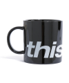 디스이즈네버댓(thisisneverthat) HSP Mug Black