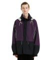 라이풀(liful) COLORBLOCK WIND PARKA purple